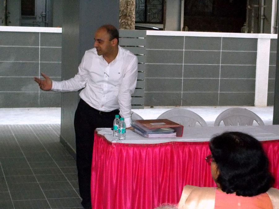 The key handover ceremony for Swasti - Pandit Javdekar